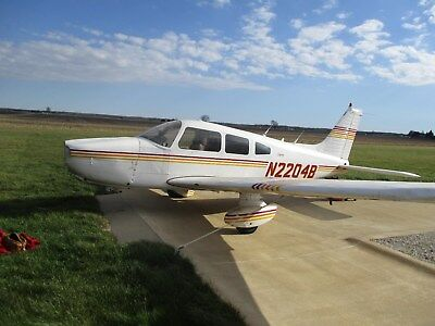 1979 Piper Pa-28-236 Dakota, 3400 Total Time, Well Cared For, Damaged, Cheap !!