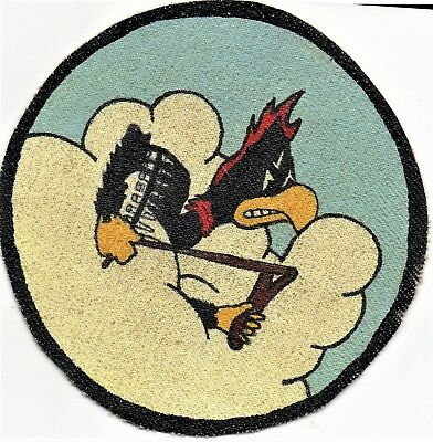 WW II era 359th Fighter Squadron RKO Studio Patch 2nd Version