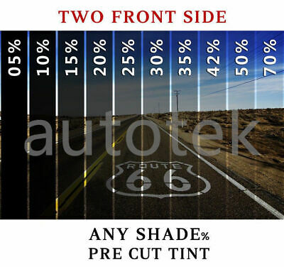 PreCut Film Front Two Door Windows Any Tint Shade % for All Cadillac CTS Glass