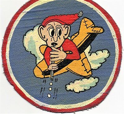 WW II era 10th Fighter Squadron RKO Studio Patch