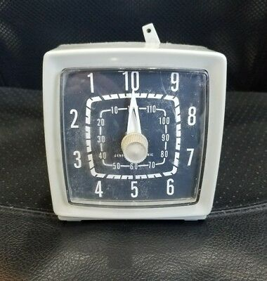 Vintage General Electric Darkroom Interval Timer Good Working Condition