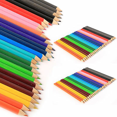 LARGE COLOURED PENCILS PACK School Stationery Children/Kids Art Set BULK- 2-300
