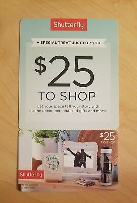 Shutterfly coupon $25 off of $25