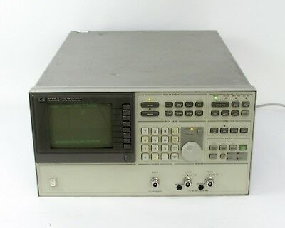 HP / Agilent 3577B Network Analyzer w/ Opt 001 - 5 Hz to 200 MHz