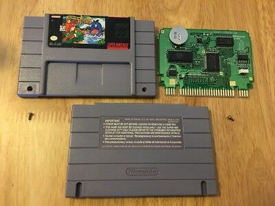 Super Mario World 2: Yoshi's Island (Super Nintendo, 1995) Tested !! Authentic !