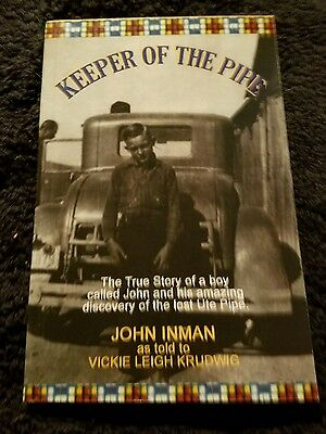 Keeper of the Pipe: The True Story.  Story of return of the Ute pipe
