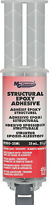 MG Chemicals 9200 Structural Adhesive, 25 mL Dual Syringe