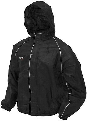 Frogg Toggs Road Toad Jacket Black FT63132-01LG Lg