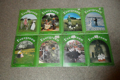 All 8 EVERGREEN History Magazines From 1995 & 1996