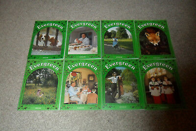 All 8 EVERGREEN History Magazines From 1987 & 1988