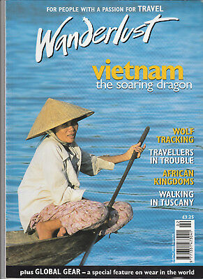 WANDERLUST Magazine February/March 2001 - Vietnam, African Kingdoms, Tuscany