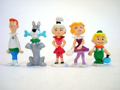 Vintage PVC Jetsons Figurines by Applause Hanna Barbera Cartoon 7 pc lot