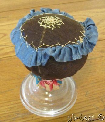 Antique PA c 1890 Amish Mennonite PIN Cushion Make Do EXHIBITED Collection