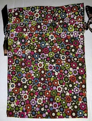 Brighton Authentic Fabric Jewelry Pouch Dust Cover Drawstring Bag   *NO Jewelry*