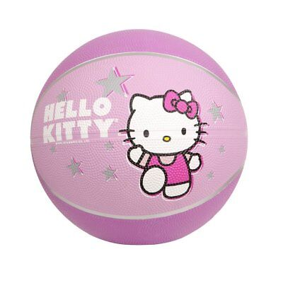 "Hello Kitty Sports Go! Mini Basketball 7"" Inch NEW Kids Free Shipping US SELLER"