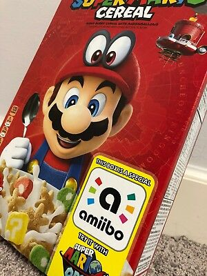 Kellog's SUPER MARIO CEREAL Limited Edition UNOPENED