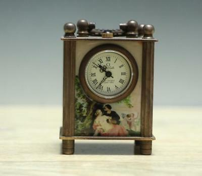 collectibles representative of China western women beautiful small clock