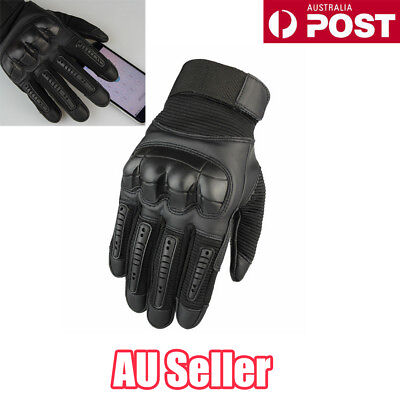 Waterproof Motorcycle Rider Protective Gloves Touch Screen Winter Warm S4 ON