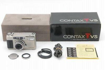 【 MINT IN BOX! 】CONTAX TVS W/Vario Sonnar 28-56mm f/3.5-6.5 From Japan #065