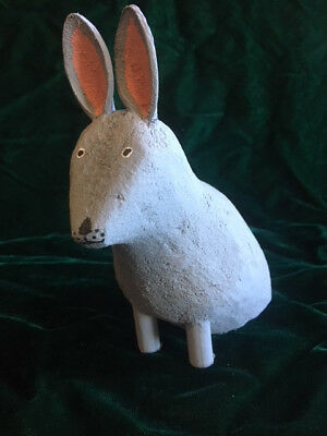 Navajo Wood Carving - Rabbit Rattle - Signed by the Artist - Les
