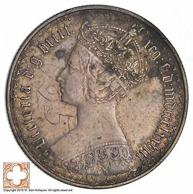 1878 Great Britain One Florin *6944