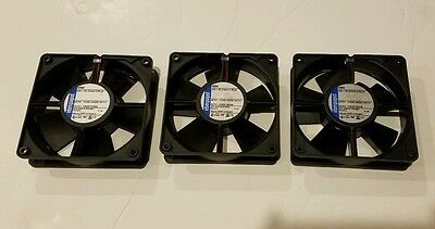 (3) EBM papst 4394 Fans - 24 VDC, 5W, 120x120x32mm - Tested Working