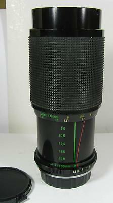 Rokinon 80-200mm f/4.5 Telephoto Zoom Lens for Yashica Contax Mount SLR Bodies