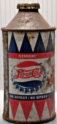 Pepsi Double Dot Cone Top Can