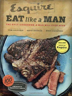 Eat Like a Man by Ryan D'Agostino   Hardcover Book   9780811877411   NEW