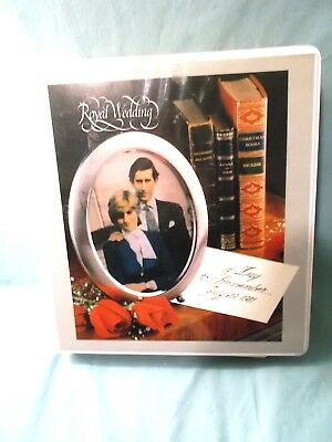 Royal Wedding   A Day To Remember  July 29 1981  Stamp Book By Herrick Stamp Co.
