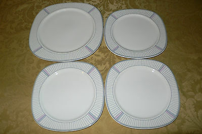 New Decade By Noritake New Yorker Japan 4 Plates