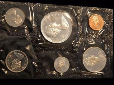1966 Canada PL set 1.1 ounce of silver  NO reserve! (BK1)