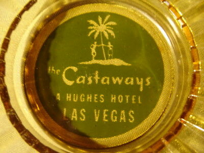 Vintage The Castaway A Hughes Hotel Las Vegas Nevada Ashtray