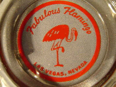 Vintage Fabulous Flamingo Las Vegas Nevada Ashtray