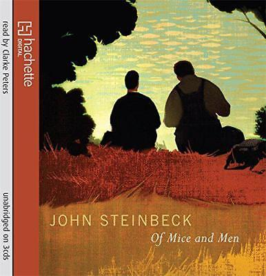 Of Mice And Men by John Steinbeck | Audio CD Book | 9781405509121 | NEW