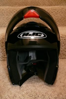 Motorcycle Helmet, Hjc, Full Face, Size Large; Model Sy-Max