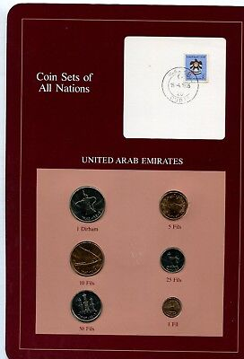 franklin mint coin sets of all nations united arab emirates