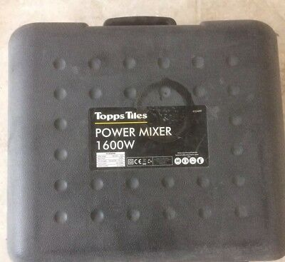 Plasterers Paddle Mixer 1600w 240v (only used for 2wks)