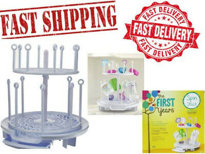 Baby Bottle Drying Rack Dryer Holder Shelf Kitchen Pacifiers Nipples Drainer New