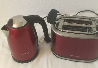 Toaster Wasserkocher Set
