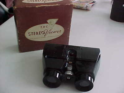 vintage TDC Stereo viewer + box