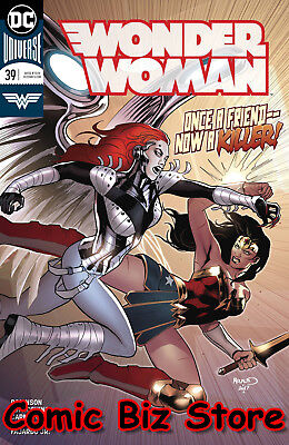 Wonder Woman #39 (2018) 1St Printing Bagged & Boarded Dc Comics Universe Rebirth