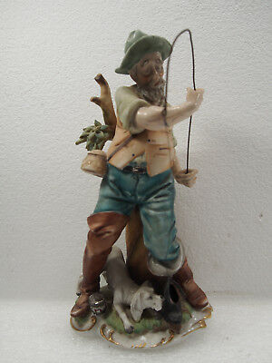 Vintage 1950's Lipper And Mann Creation Old Fisherman With Boot