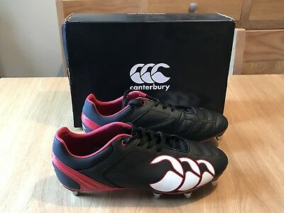 Canterbury Phoenix Club 8 Stud Rugby Boots Size 10 UK
