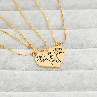 1pcs Charm Pendant Necklace Fashion Mother's day Daughter Choker Elegant Jewelry
