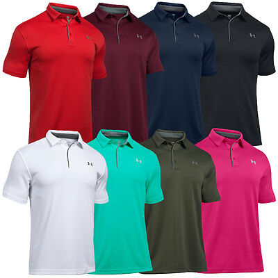 Under Armour UA Tech Men's Golf Polo Shirt - NEW - FREE SHIPPING - 1290140