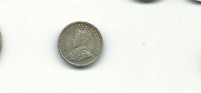Canada 1919 5 cents silver coin
