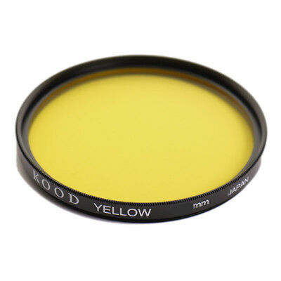 KOOD 46mm YELLOW FILTER for Black & White B&W Digital and Film Photography