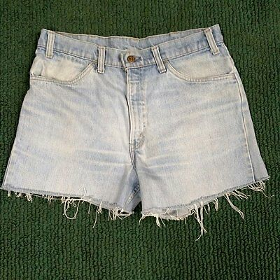 Genuine Vintage Levi's Jeans cut off Daisy Duke shorts Pre-worn broken In