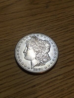 1881 cc morgan dollar